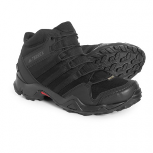 Image of adidas outdoor Terrex AX2R Mid Gore-Tex(R) Hiking Boots - Waterproof (For Men)