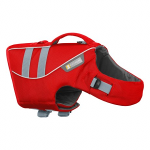 Image of Ruffwear Dog Float Coat with Handle - Reflective Trim