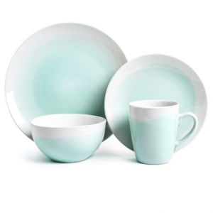 Image of American Atelier Oasis Collection Stoneware Dinnerware Set - 16-Piece