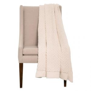 Image of Artisan de Luxe Chunky Honeycomb Throw Blanket - 50x60?