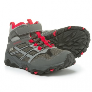 Image of Merrell Moab Mid Hiking Boots - Waterproof (For Boys)