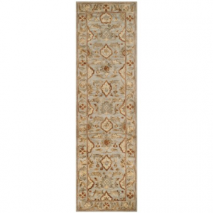 Image of Safavieh Antiquity Collection Light Grey floor Runner - 2?3?x8?, Hand-Tufted Wool