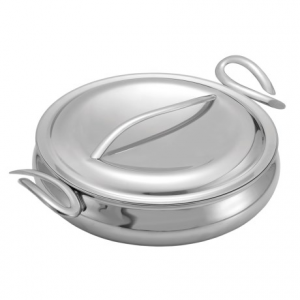Image of Nambe CookServ Saute Pan with Lid - 8 qt., 14?