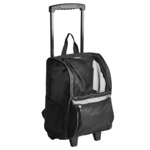 Image of East Side Collection On the Go Rolling Pet Carrier Backpack