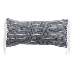 Image of Artisan de Luxe Chenille Stripe Decor Pillow - 17x35?