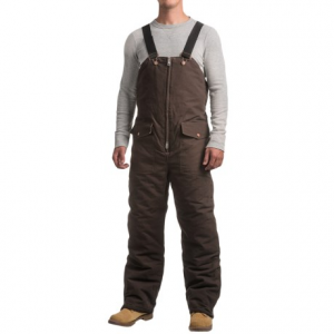 Image of Work Horse Washed Bib Overalls - Insulated (For Men)