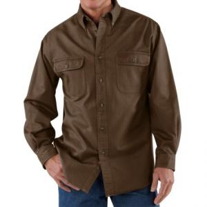 Image of Carhartt Heavyweight Cotton Shirt - Factory Seconds (For Tall Men)