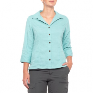 royal robbins cool mesh shirt - 3/4 sleeve (for women)- Save 48% Off - CLOSEOUTS . Hot climates, warm weather or whatever the heat throws your way, Royal Robbins' Cool Mesh shirt is made of soft, breathable fabric with quick-drying performance. Available Colors: CRANBERRY, ALOE, ROSEHIP, SALVIA BLUE, AGAVE, RAFFIA, PEACH, POOL, WHITE, JET BLACK, SOAPSTONE. Sizes: XS, S, M, L, XL, 2XL, 3XL, 4XL.