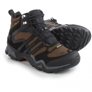 Image of adidas outdoor Terrex Fast X FM Mid Gore-Tex(R) Hiking Boots - Waterproof (For Men)