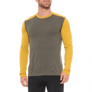 photo: Icebreaker Men's 200 Lightweight Oasis Crewe base layer top