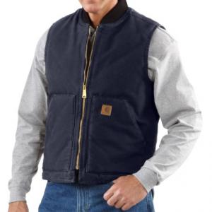 Image of Carhartt Sandstone Duck Vest - Insulated, Factory Seconds (For Men)
