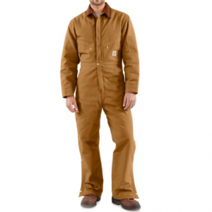 Image of Carhartt Quilt Lined Duck Coveralls - Factory Seconds (For Men)