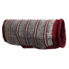 Eddie Bauer Marled Striped Dog Sweater   Large