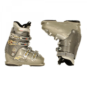 Used Womens Nordica One S 60 Ski Boots 2012