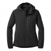 Winter Ferrosi Hoody Wms Black