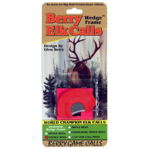 Berry Game Calls Wedge Frame Double Reed Elk Call thumbnail