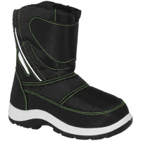 World Famous Boys Toddler Toasty Winter Boots - Black