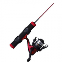 Shakespeare Fuel Ice 27 Inch Ice Spinning Combo ( Light Rod Power )