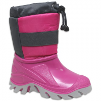World Famous Youth Girls Candy Shell Boots - Pink