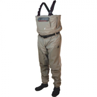 Frogg Toggs Anura Ii Reinforced Nylon Breathable Stockingfoot Waders - Beige / Khaki