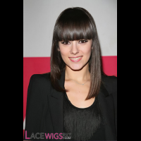 Alizee Jacotey Long Hairstyle Remy Human Hair Wig [FS0802]