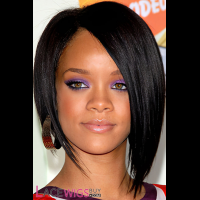 Rihanna Long Hairstyle Remy Human Hair Wig [FS0848]