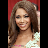 Beyonce Knowles Long Hairstyle Remy Human Hair Wig [FY0818]