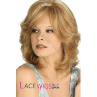 """10"""" Curly #27/613 100% Human Hair Wigs [CLRCY2119]"""