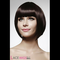 """8"""" Silky Straight #3 100% Human Hair Wigs [CLRSS1000]"""
