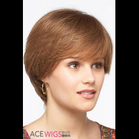 """8"""" Silky Straight #6 100% Human Hair Wigs [CLRSS1072]"""