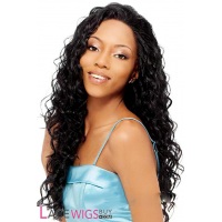 """22"""" Curly #1B Full Lace Wigs 100% Indian Remy Human Hair [FC0035]"""