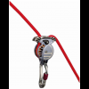 Wild Country Revo Belay Device - Gunmetal/Tangerine