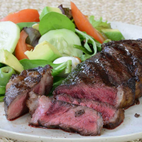 American Bison New York Strip Steaks