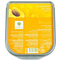 Apricot Compote with Bitter Almond