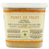 Pabana Puree (Passionfruit, Banana, Mango, Lemon)