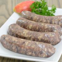 Venison Sausage with Cranberries
