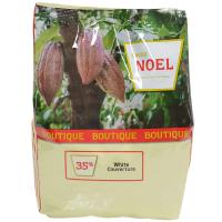 Noel White Chocolate Couverture Pistoles - 35%, Pembe