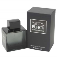 Seduction In Black by Antonio Banderas for Men 3.4 oz Eau De Toilette