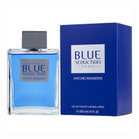 Blue Seduction by Antonio Banderas for Men 6.7 oz Eau De Toilette