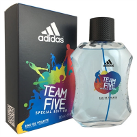 Team Five Special Edition by Adidas for Men 3.4oz Eau De Toilette