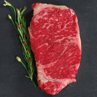 Wagyu Beef New York Strip Steak MS5 - Cut To Order - 13 lbs, 1-inch steaks