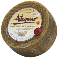 Manchego Cheese - Artisan D.O.P. - Aged 10 months - 6.6 lbs wheel