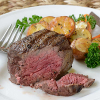 Wagyu Beef Ribeye Filet Steaks MS5 - 2 pieces, 8 oz ea