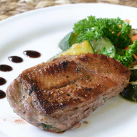 Muscovy Duck Hen Breast - 2 double breasts, 2.25 lbs total