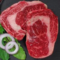Wagyu Beef Rib Eye Steaks MS5/6 - 2 pieces, 8 oz ea