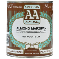 Almond Marzipan - 34% - 8 lb can