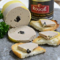 Duck Foie Gras with Truffles - Shelf Stable - 1 can - 3.17 oz