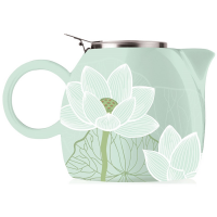 Tea Forte PUGG Ceramic Teapot - Lotus - 24 oz teapot