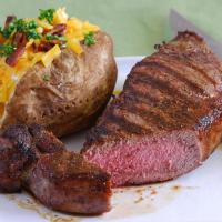 Grass Fed Beef NY Strip Steaks - 2 steaks, 8 oz ea
