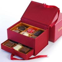 Leonidas Jewelry Box - Red - Small box (12 pcs)